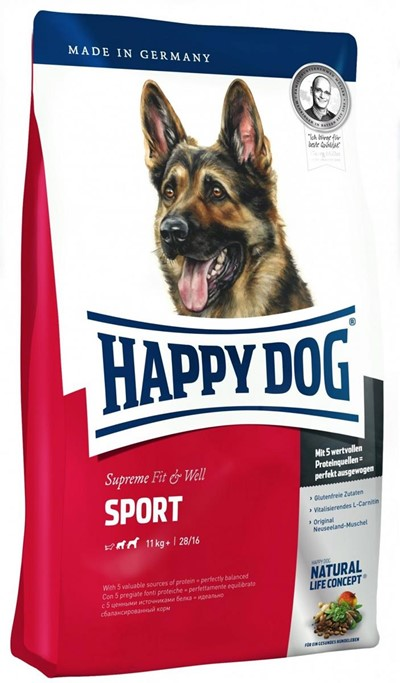 Happy Dog Supreme Fit&Well 15kg Sport